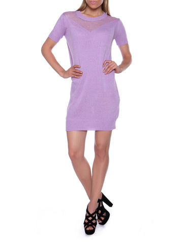 Cutie Lilac Knitted Dress