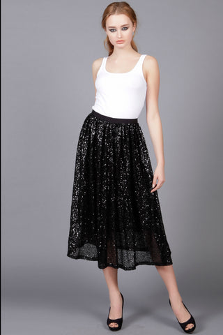 Cutie Sequin Embellished Skirt