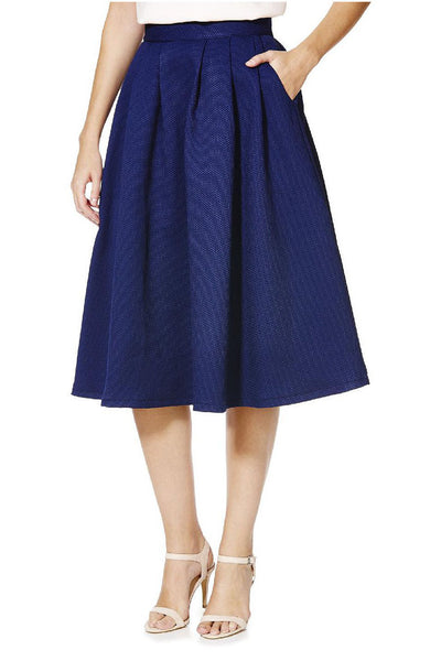 Cutie Textured A-line Skirt