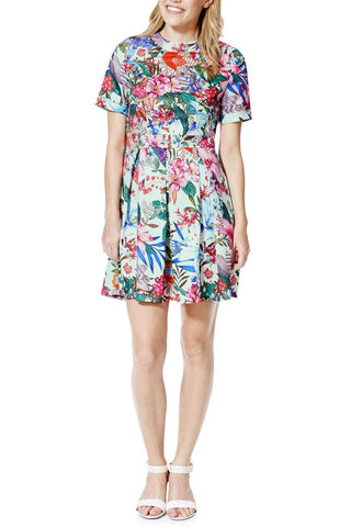 Cutie Tropical A-line Dress