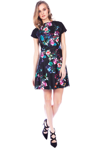Cutie Floral Raglan Dress
