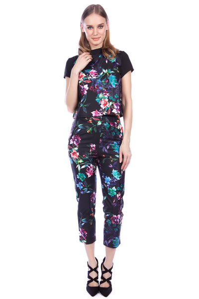 Cutie Coloured floral trousers