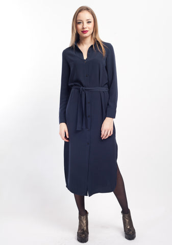 Cutie Long Sleeve Shirt Dress