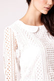 Peter Pan Lace Blouse