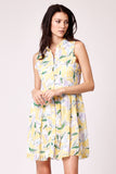 Cutie Floral Print Summer Dress
