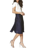 Cutie Silky Pleated Skirt