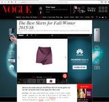 Cutie London Asymmetric Skirt - As Featured in VOGUE ITALY