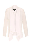 White Light Chiffon Water Blazer