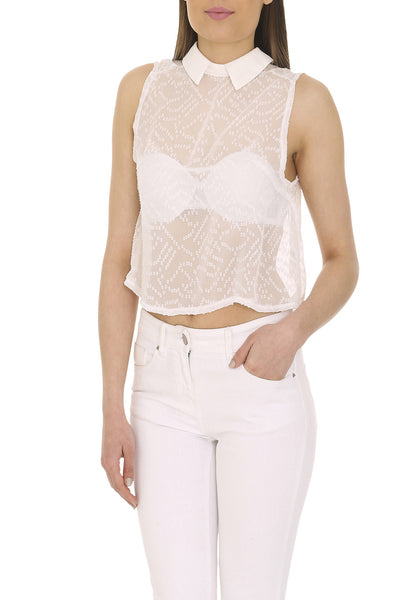 Cutie London Loose Fit Crop Top