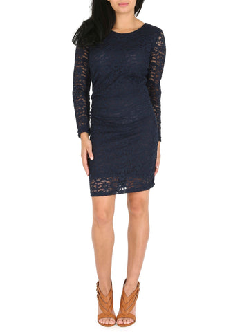 Cutie Long Sleeve Lace Dress