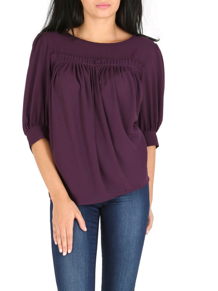 Cutie Pleated Blouse