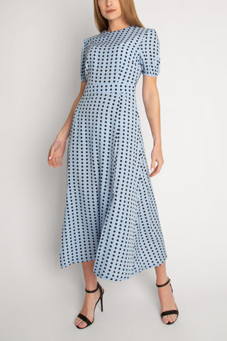 Short Sleeve Maxi Length Dress