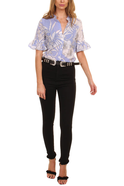 Cutie Floral Pattern Top