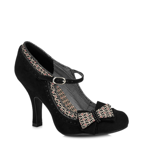 Ruby Shoo Black Mary Jane Heels