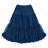 EXTRA VOLUME Navy Blue Net Vintage Rockabilly 50s Petticoat Skirt