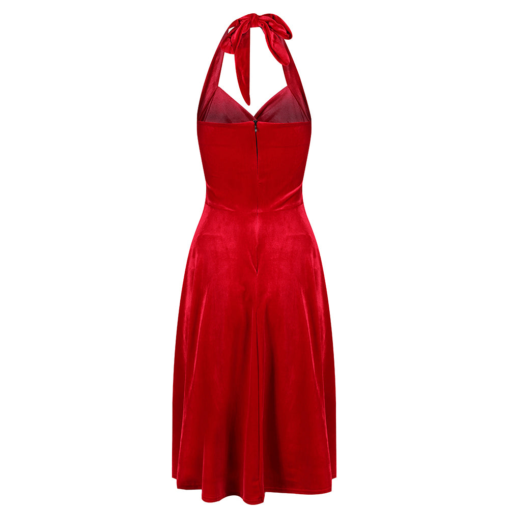 3042e3af3fa Vintage Inspired Dresses - Red - Pretty Kitty Fashion