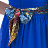 Jolie Moi Royal Blue Floral Chiffon Sleeveless Summer Maxi Dress - Pretty Kitty Fashion