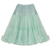 EXTRA VOLUME Mint Green Net Vintage Rockabilly 50s Petticoat Skirt - Pretty Kitty Fashion