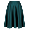 Emerald Green 1950s Vintage Rockabilly Swing Skirt - Pretty Kitty Fashion