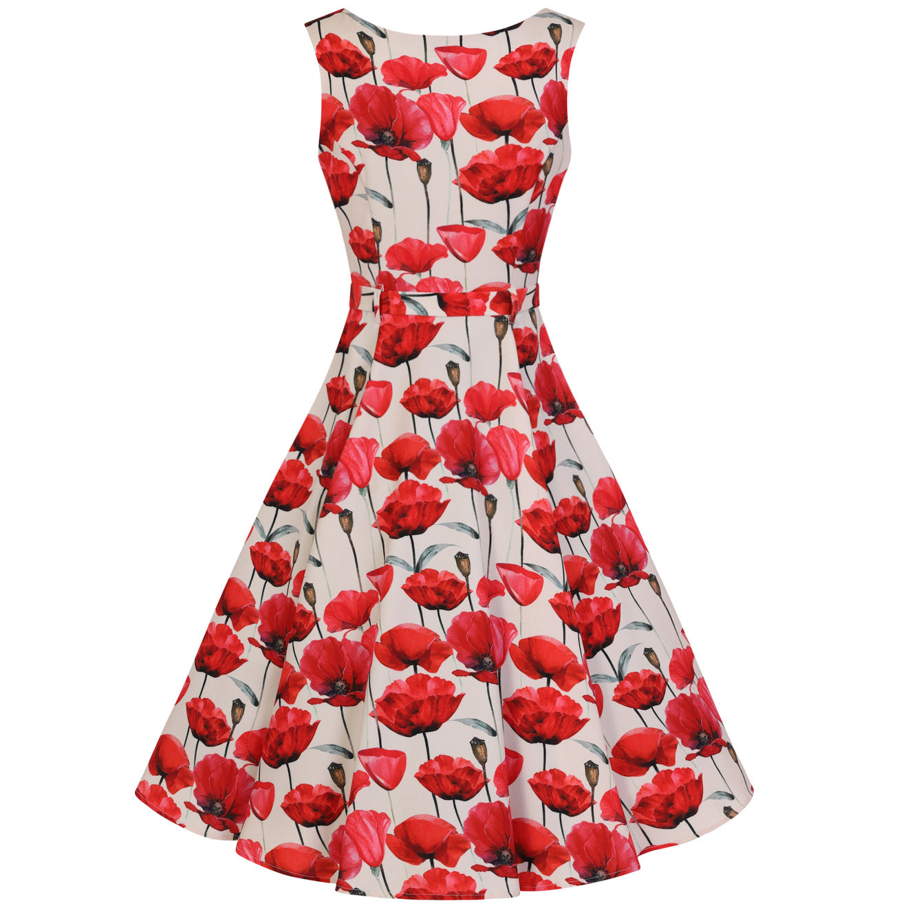 be0b5a8e4d26 Vintage Inspired Dresses - Red - Pretty Kitty Fashion