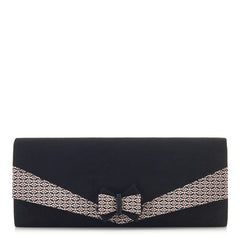 Ruby Shoo Black Clutch Bag