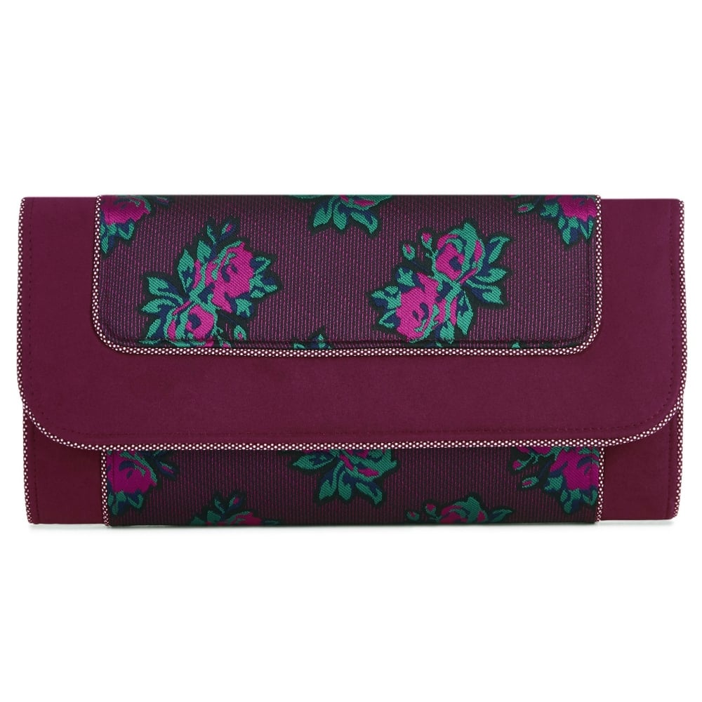 Ruby Shoo Plum Clutch Bag