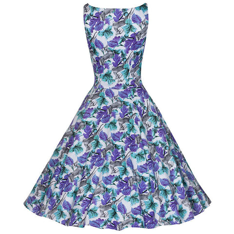 Pretty Kitty Antelope Print Floral Dress