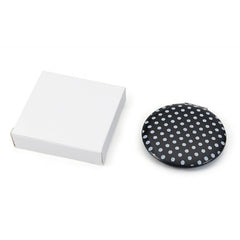 Black & White Compact Mirror - Pretty Kitty Fashion