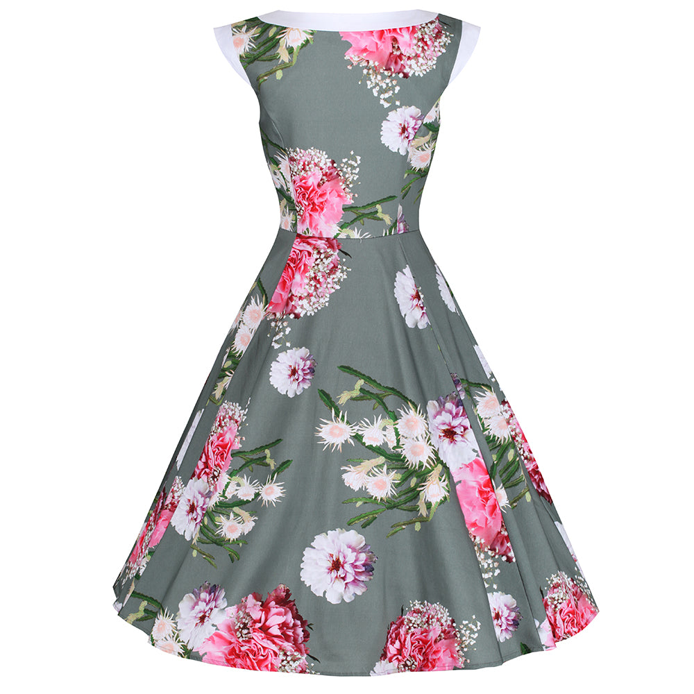 9e3691aacc Vintage Inspired Dresses - Green - Pretty Kitty Fashion