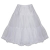 EXTRA VOLUME White Net Vintage Rockabilly 50s Petticoat Skirt