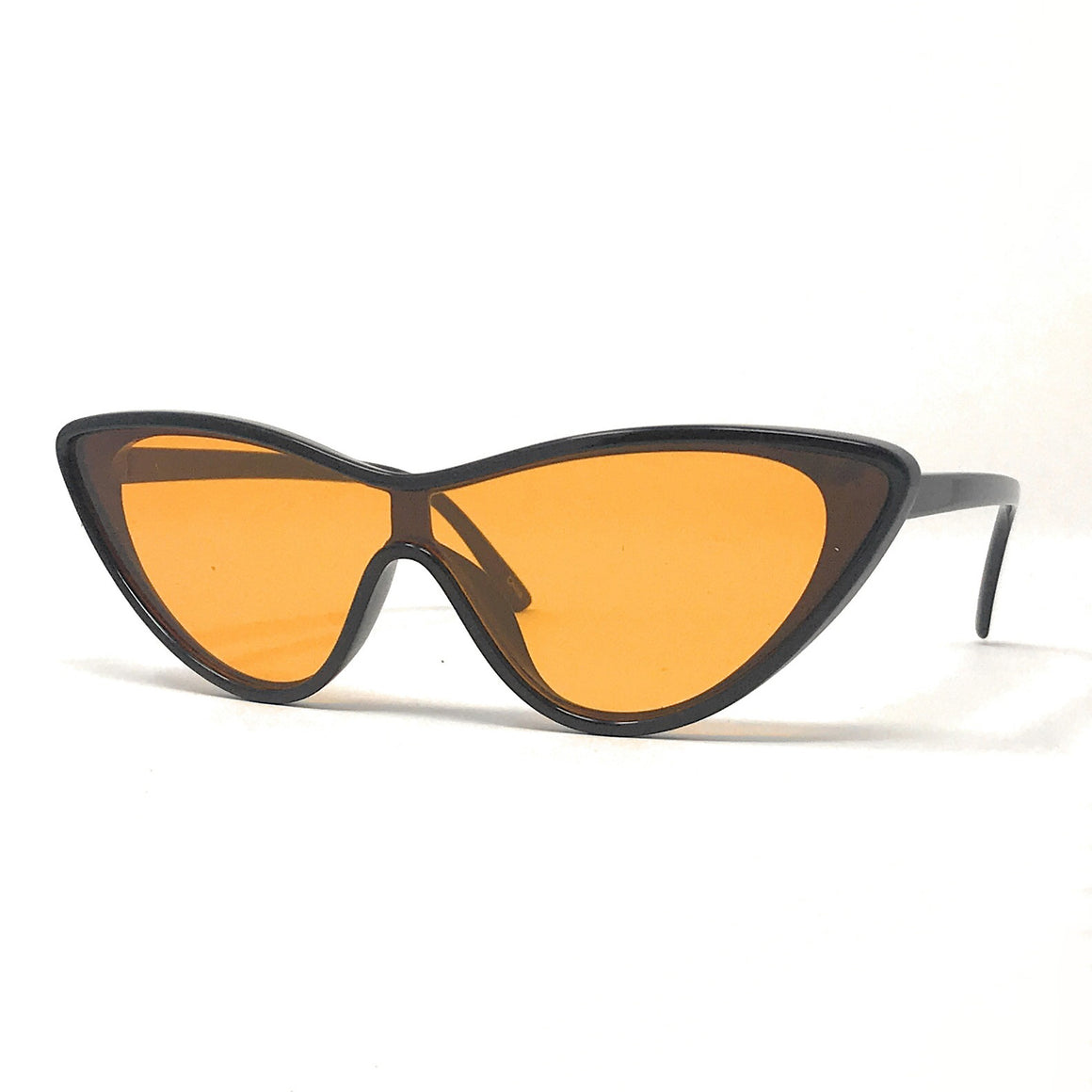 Black and Yellow 1950s Vintage Sunglasses - Pretty Kitty Fashion