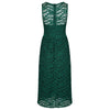 Emerald Green Audrey Embroidered Lace 50s Swing Bridesmaids Dress