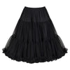 EXTRA VOLUME Black Frill Tutu 50s Rockabilly Wedding Petticoat Skirt - Pretty Kitty Fashion