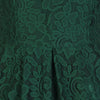 1950s Vintage Green Embroidered Lace Swing Bridesmaids Dress - Pretty Kitty Fashion