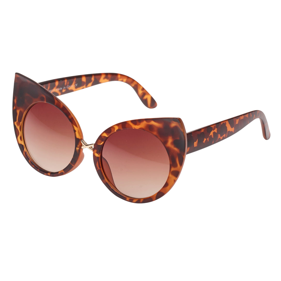 Tortoiseshell Vintage Retro Sunglasses - Pretty Kitty Fashion