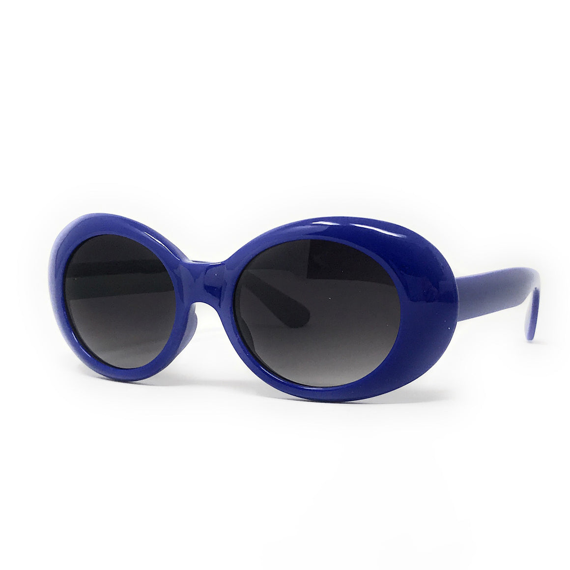 Royal Blue 1960s Vintage Sunglasses