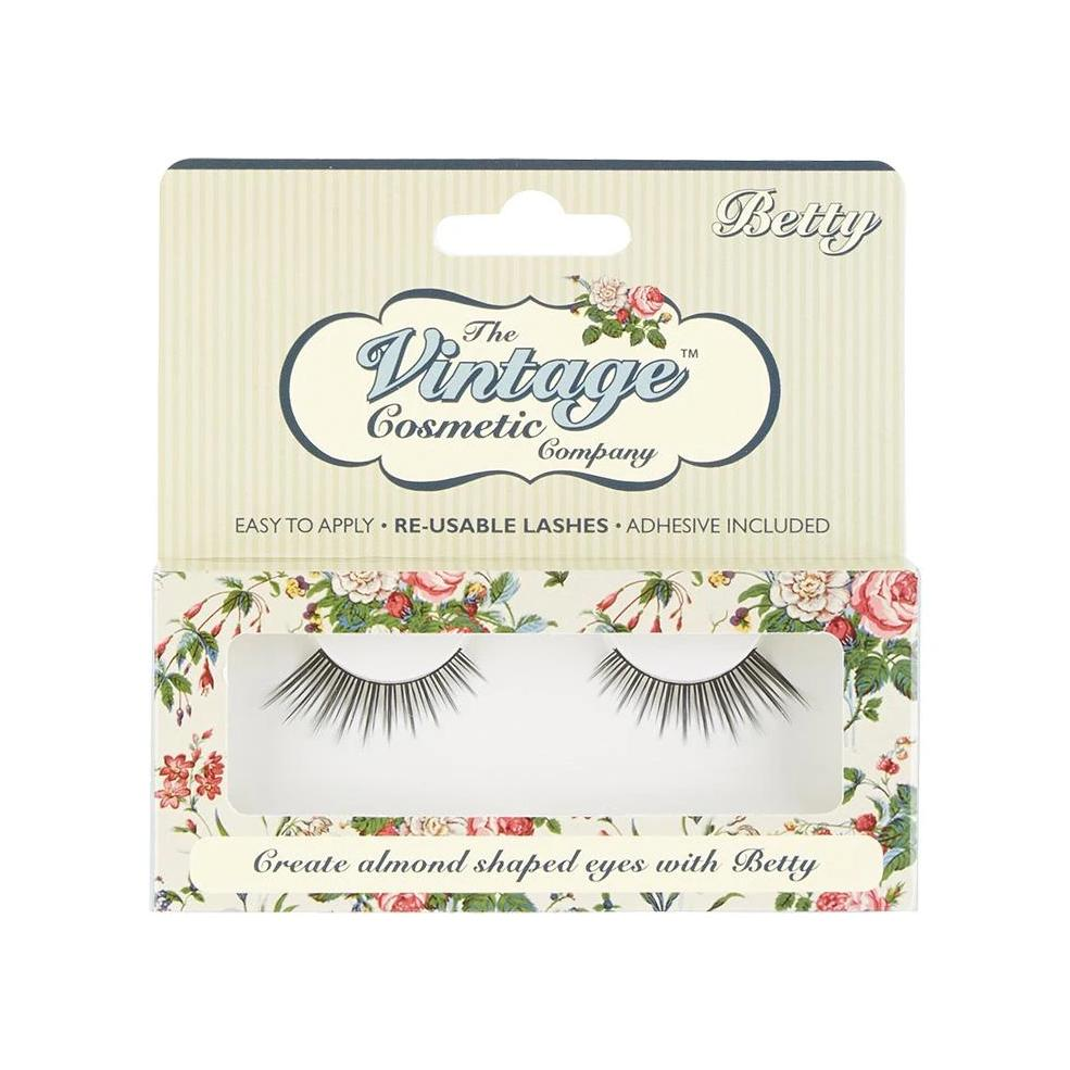 Betty False Strip Lashes - Pretty Kitty Fashion