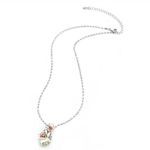 Butterfly Diamante Charm Necklace - Pretty Kitty Fashion