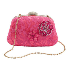 Hot Pink Fuschia Case Bag Bag