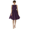 Purple Cotton Audrey Dress