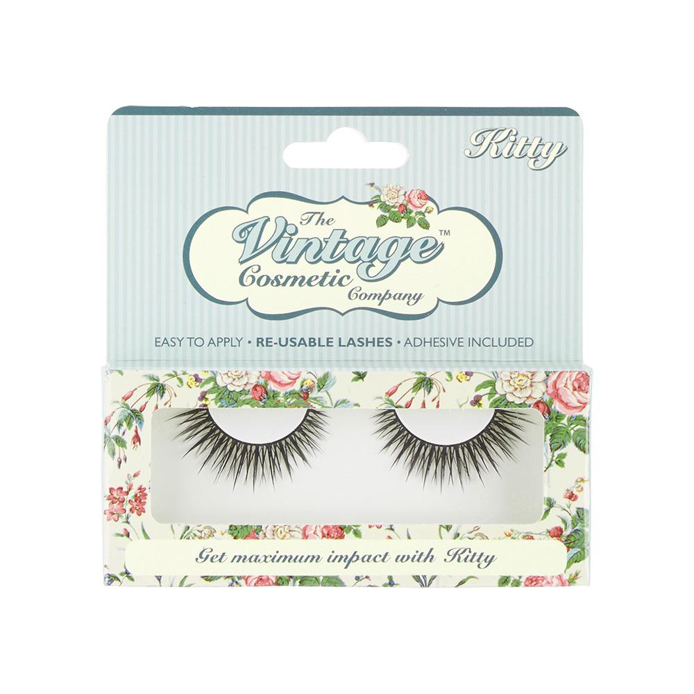 Kitty False Strip Lashes - Pretty Kitty Fashion