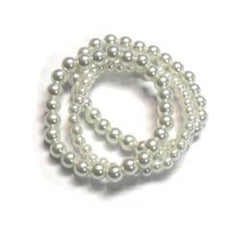 Set Of 3 Stretch Pearl Bracelets