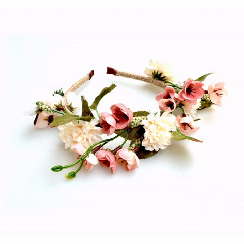 Blossom Floral Crown Hairband