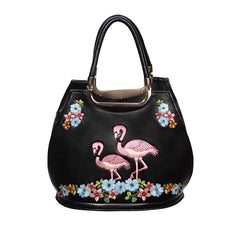 Black Flamingo Bag - Pretty Kitty Fashion