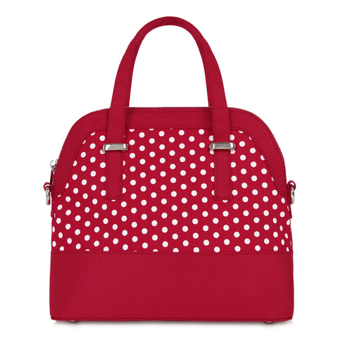Ruby Shoo Lima Red Polka HandBag
