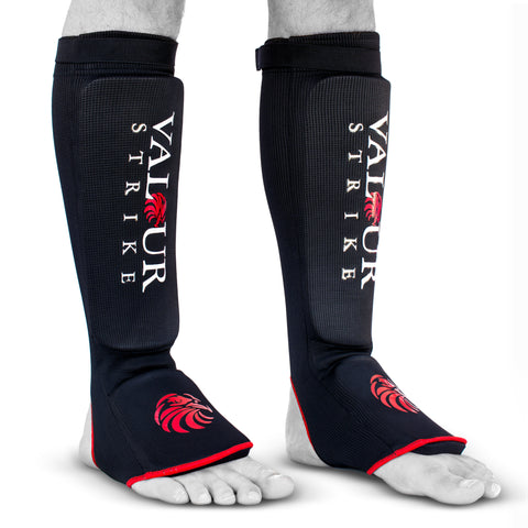 Premium Padded Sock MMA Shin Guards