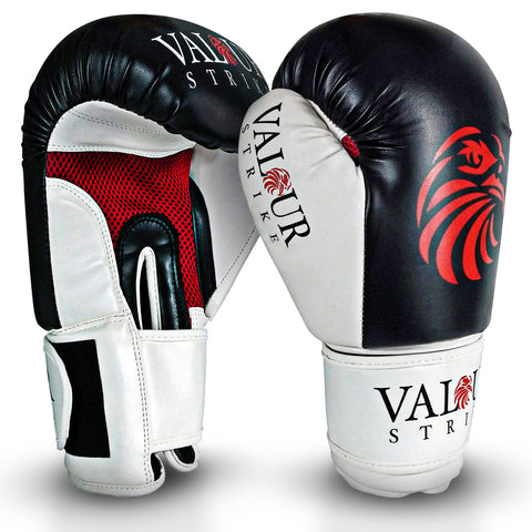 Premium Black Boxing Sparring Gloves