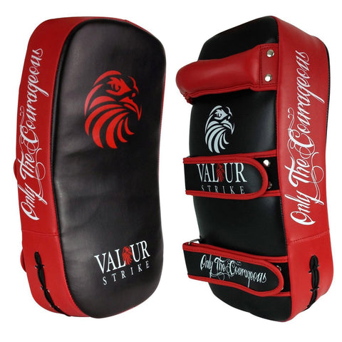 Muay Thai Pad - Kickboxing Curved Strike Pad