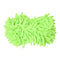 Multi-Function Chenille Fibre Washable Dust Mop Spers - Random Color (Pair) F2O3