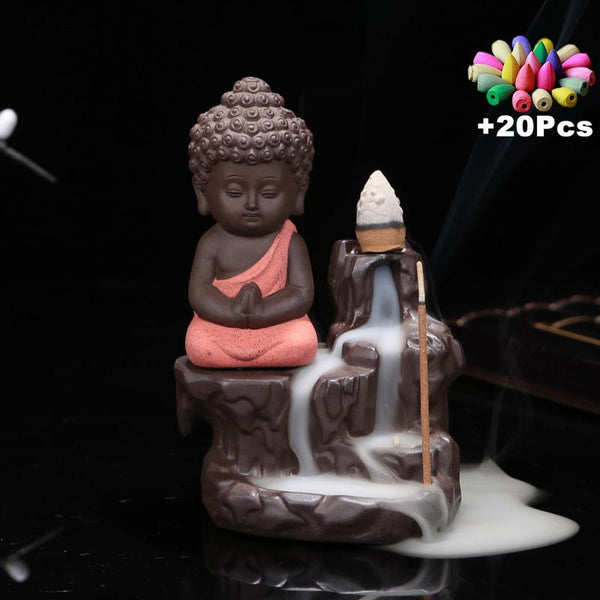 HANDMADE BUDDHA INCENSE BURNER